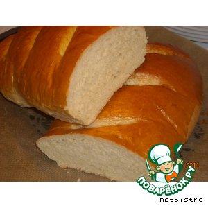 "Рецепт Хлеб ""Французский"" (Franskbrod)"
