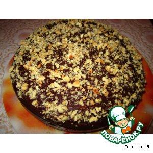 """Рецепт Торт """"Шоколадное искушение"""""""