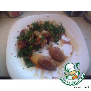 Рецепт Бараньи яйца