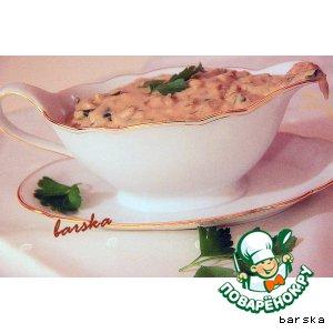 Рецепт Соус из сушеных грибов по-волынски