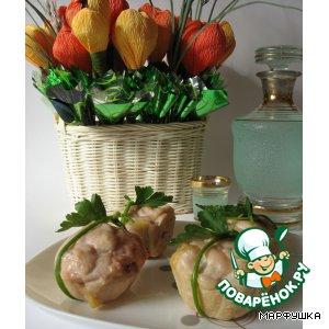 Закусочные кексы из курицы