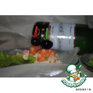 "Рецепт Мини-бутерброды ""Долли"""