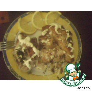 Рецепт Рыба по-волжски
