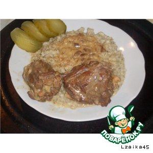Рецепт Ужин в деревенском стиле