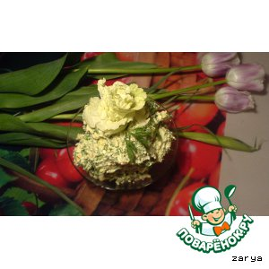 Авокадно-сырный салатик