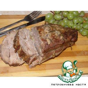 Рецепт Запеченая свиная шейка