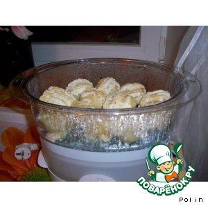 Рецепт Картошечка веером из пароварки