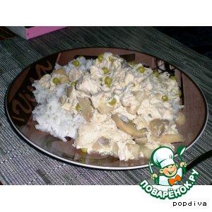Рецепт Куриное фрикасе