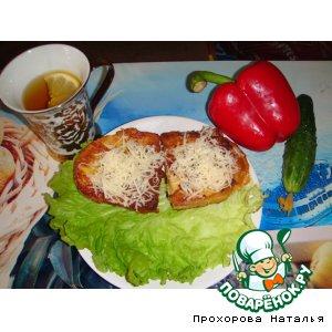 Готовим простой рецепт приготовления с фото Гренки с сыром