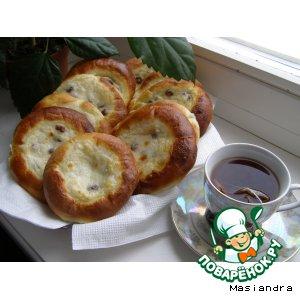Рецепт Сладкое дрожжевое тесто для булочек и ватрушек