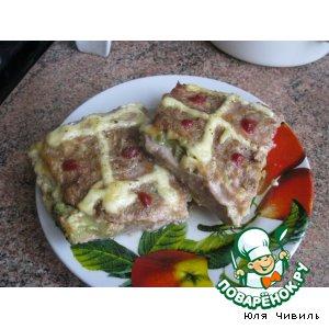 Рецепт Мясная запеканка с сыром и брокколи