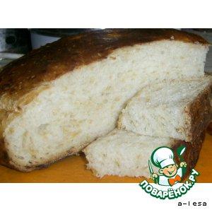 Рецепт Хлеб с сыром (без дрожжей)