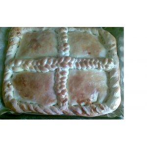 Рецепт Пирог с вишней и айвой