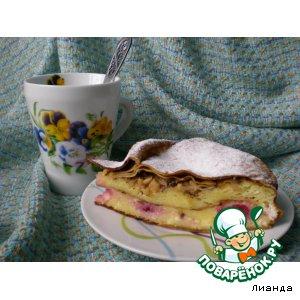 Рецепт Блинный пирог с манно-творожной начинкой
