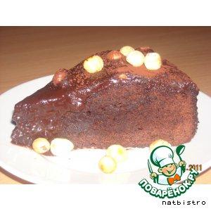 Рецепт Шведское шоколадное пирожное с кофейной глазурью