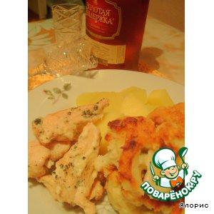 Рецепт Куриная грудка в молоке с мятой