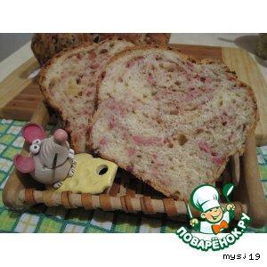 Рецепт Хлеб с сыром и ветчиной
