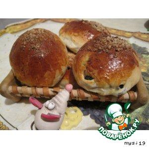 Рецепт Калорийная булочка