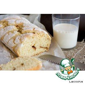 Как готовить Кукурузный хлеб с красным луком и чесноком домашний рецепт с фото