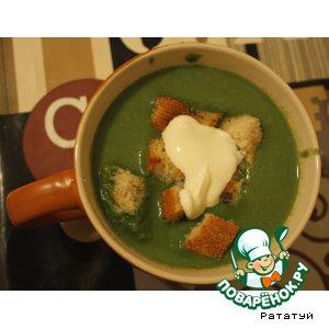 Рецепт Крем-суп из шпината
