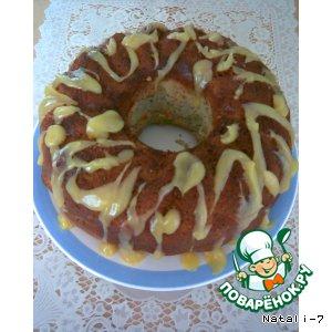 Рецепт Апельсиновый кекс с маком и орехами