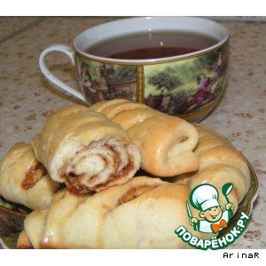 Рецепт Постные булочки с медом и орехами