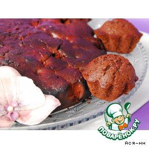 Рецепт Кексы с вишневой изюминкой