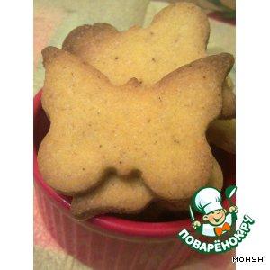 Как готовить вкусный рецепт приготовления с фотографиями Кукурузное печенье