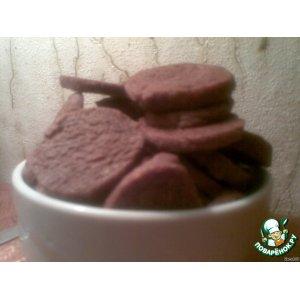 Рецепт Шоколадное печенье с чесноком