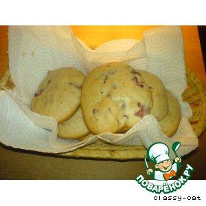 Рецепт Печенье с клубникой