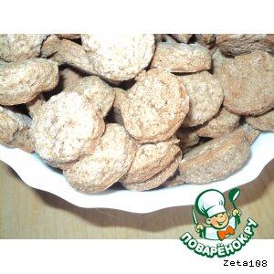 Рецепт Постное гречневое печенье