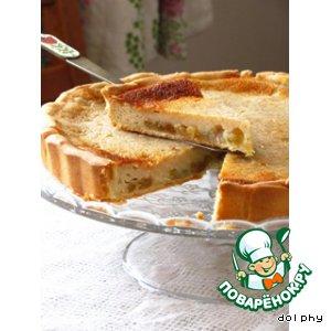 Рецепт Тарт со сметаной и яблочным уксусом