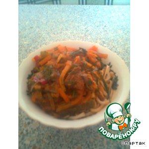 Восточный лагман рецепт приготовления с фотографиями пошагово как готовить