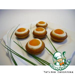 Рецепт Кексики с абрикосами