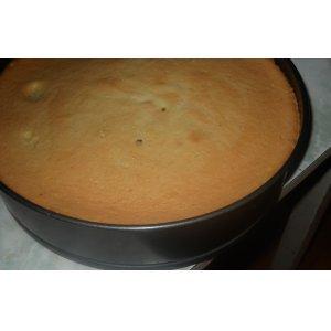 Рецепт Шифоновый ванильный бисквит