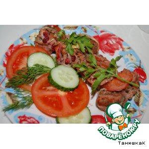 Рецепт Свинина с брусникой