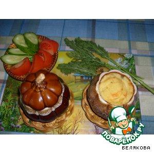 Рецепт Картофель с сыром в горшочке
