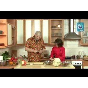 Рецепт Постный грибной суп-пюре с чипсами из шиитаке