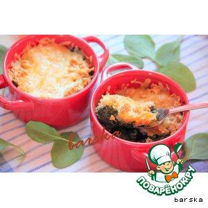 Рецепт Гратинированный шпинат
