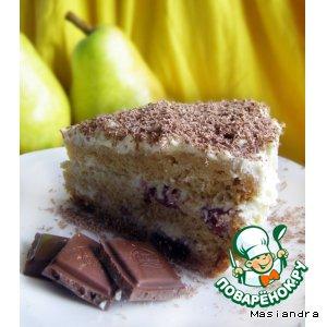Рецепт Бисквит вишневый