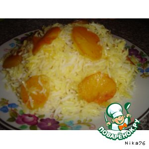 Рецепт риса с картошкой