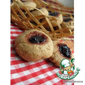 Рецепт Пряное печенье с джемом