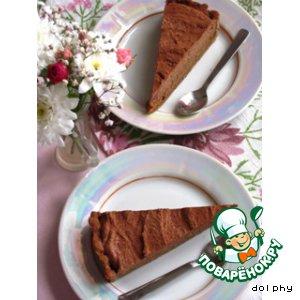 Рецепт Шоколадно-карамельный тарт с корицей