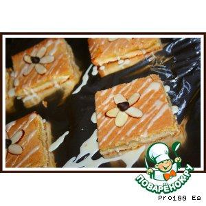 Рецепт Апельсиновые квадратики