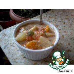 Как готовить Фруктово-йогуртовый супчик вкусный пошаговый рецепт приготовления с фото