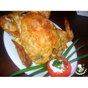 Рецепт Цыпленок, запеченный в духовке