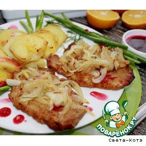 Рецепт Отбивные из свинины в апельсиновом маринаде