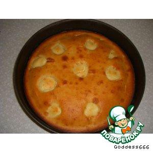 Рецепт Кекс из ряженки с творогом
