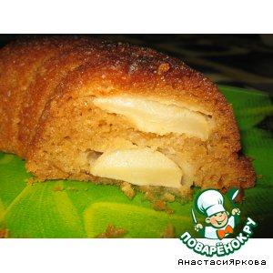 Рецепт Медовый пирог с яблоками
