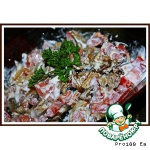 Салат из баклажанов рецепт с фотографиями пошагово как готовить